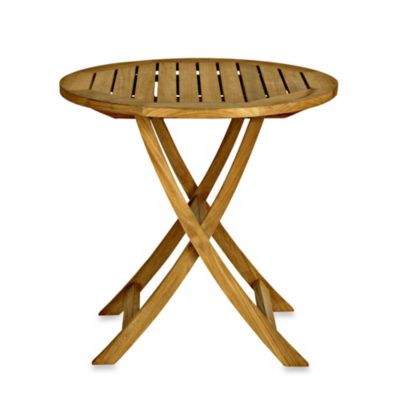 Cambridge Small Teak Folding Table