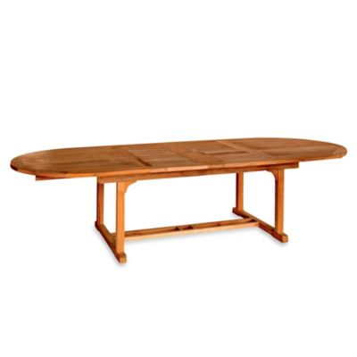 Chelsea Oval 80-Inch to 115-Inch Extension Table