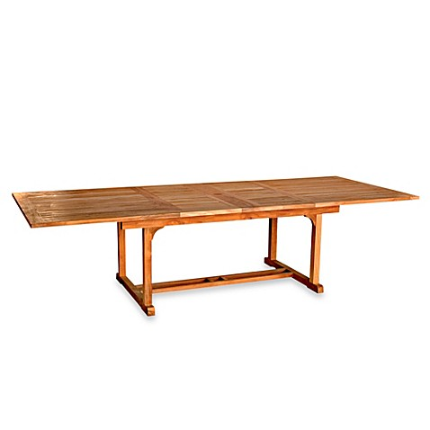 Chelsea Rectangle 6-Foot 8-Inch to 9-Foot 7-Inch Extension Table