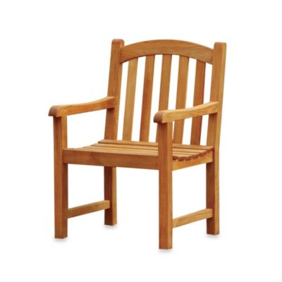 Victoria Solid Teak Chair