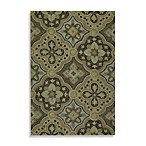 Kaleen Courtyard Indoor/Outdoor Rug in Mocha