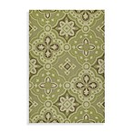 Kaleen Courtyard Indoor/Outdoor Rug in Wasabi