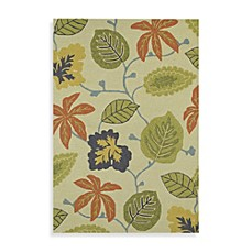 Kaleen Habitat Inland Trellis Indoor Outdoor Rug In Linen