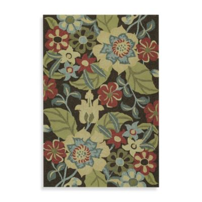 Kaleen Salty Leaves Indoor/Outdoor Rug