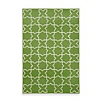 TransOcean Capri Moroccan Tile Area Rug in Green