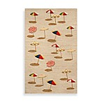 Beach Umbrella Indoor/Outdoor Rug in Natural