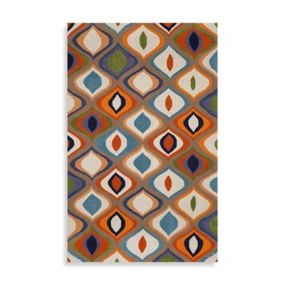 Trans-Ocean Ogee Indoor/Outdoor Rug