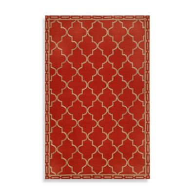 Trans-Ocean Indoor/Outdoor Rug in Red