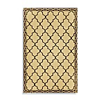 Floor Tile Indoor/Outdoor Rug in Wheat