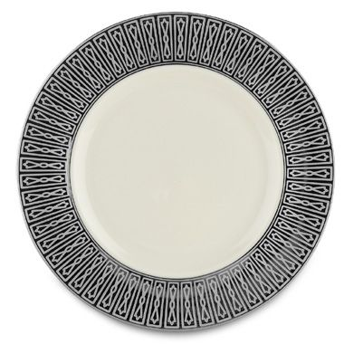Ivory Platinum Accent Plate