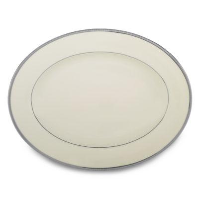 Lenox® Tuxedo Platinum Oval Platter