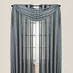 Quinn Stripe Sheer Grommet Window Curtain Panels