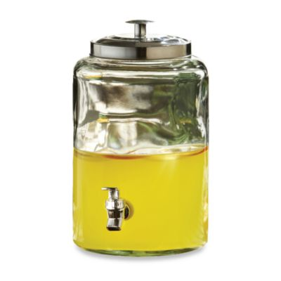 Style Setter Jacksonville Glass 10-Quart Beverage Dispenser