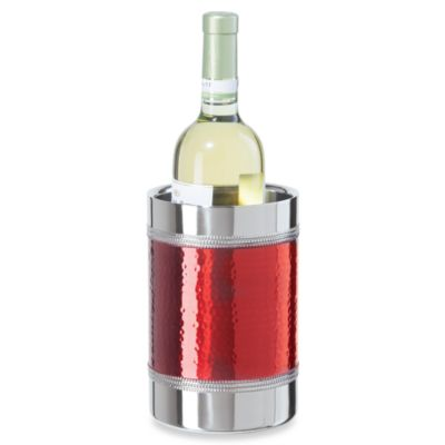 Oggi™ Hammered and Beaded Double Wall Wine Cooler