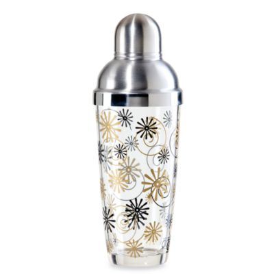 Oggi™ Indulgence 24-Ounce Glass and Cocktail Shaker