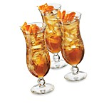 Cool Cocktails Island Hurricane 6-Piece Set