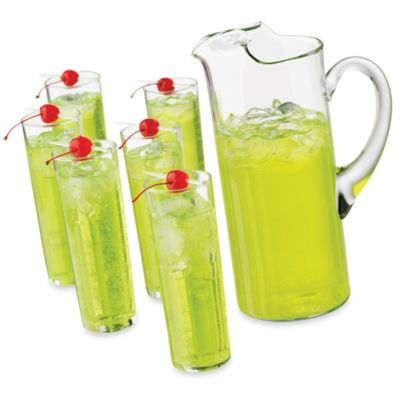 Libbey® Cool Cocktails Power Zombie 7-Piece Glass and Pitcher Set
