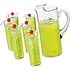Cool Cocktails Power Zombie 7-Piece Glass and Pitcher Set