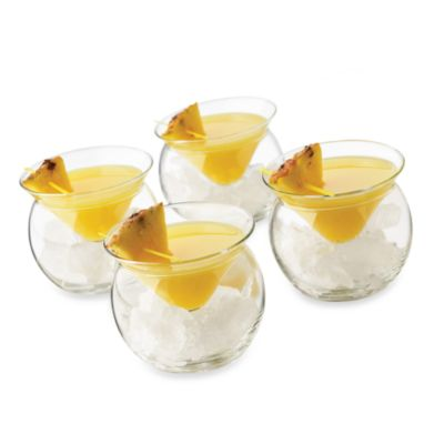 Cool Cocktails Thriller Chiller Martini 12-Piece Set