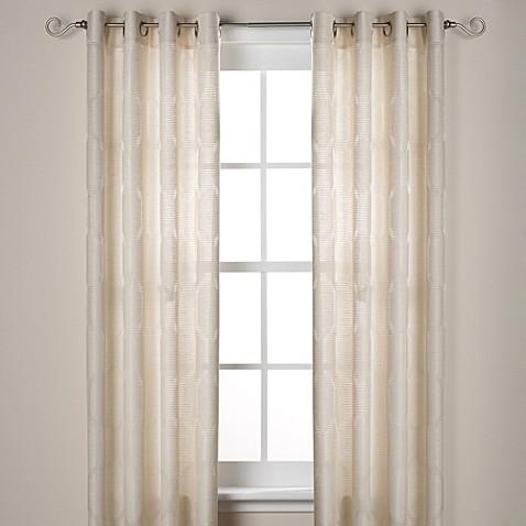 Buy J Queen New York Hamilton Grommet Window Curtain Panels From Bed Bath Beyond