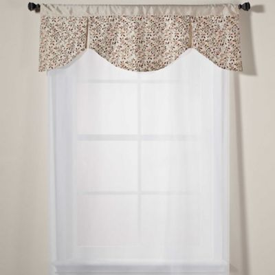 Festival Valance in Almond