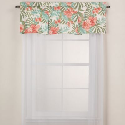 J. Queen New York™ Pompano Tropical Window Valance