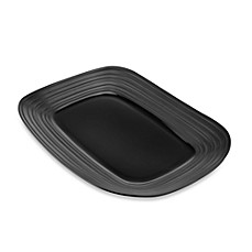 Mikasa® Swirl Rectangular Platter in Black