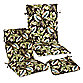 Outdoor Patio Cushion Collection in Brown Leaf