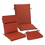 Outdoor Seat Cushion Collection in Orange