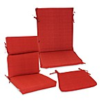 Outdoor Seat Cushion Collection in Cherry