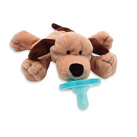 WubbaNub™ Brown Puppy Pacifier