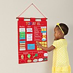 image of Alma's Designs Today Is Red Learning Wall Chart