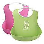 BABYBJORN® Soft Bib 2-Pack in Pink/Green