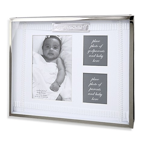 AD Sutton Bless This Child Shadow Box Photo Frame