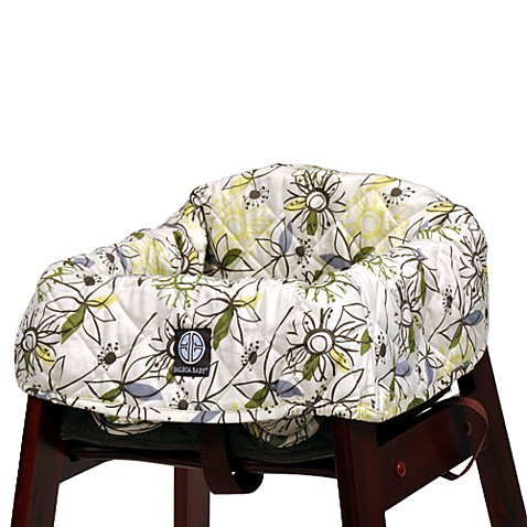 balboa baby high chair cover in retro flower buybuy baby. Black Bedroom Furniture Sets. Home Design Ideas