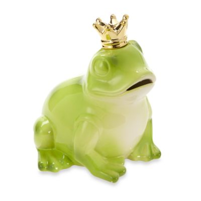 Argento Price Charming Frog Piggy Bank