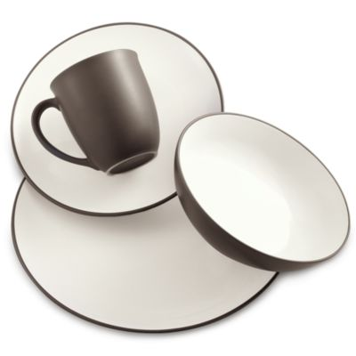 Noritake® Colorwave Chocolate 4-Piece Place Setting
