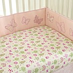 Bella Butterfly 4-Piece Crib Bumpers