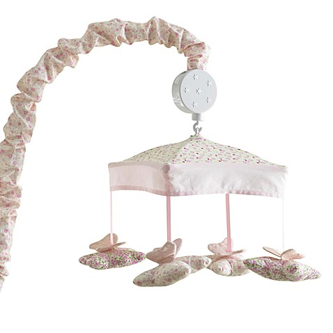Bella Butterfly Musical Crib Mobile