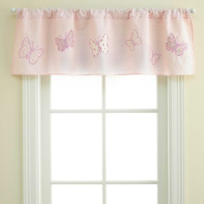 Bella Butterfly Window Valance