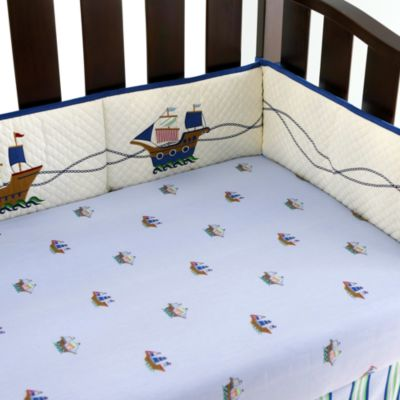 Pirate Adventures 4-Piece Crib Bumper