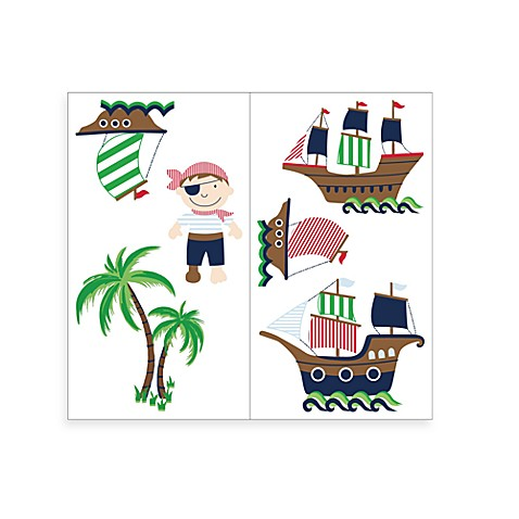 Pirate Adventures Wall Decals