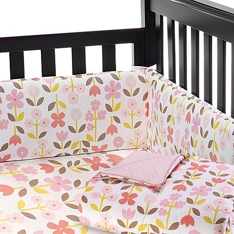 dwellstudio rosette blossom nursery collection bed bath beyond