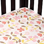 DwellStudio® Rosette Blossom Fitted Crib Sheet