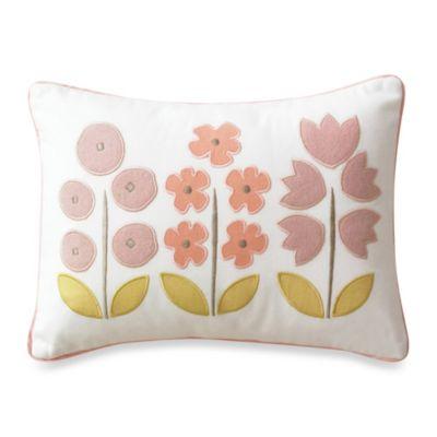 DwellStudio® Rosette Blossom Boudoir Pillow