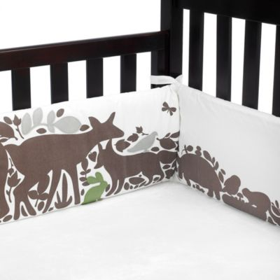 DwellStudio® Woodland Tumble Crib Bumper