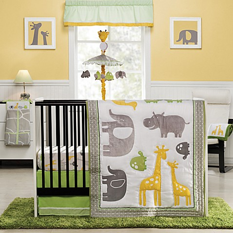 Buy Carter S 174 Zoo Animals 4 Piece Crib Bedding Set From