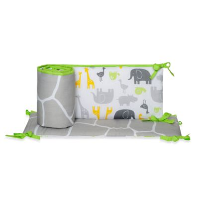 Carter's® Zoo Animals 4-Piece Crib Bumper