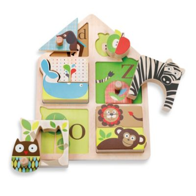 SKIP*HOP® Alphabet Zoo Match & Play Puzzle