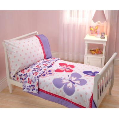 Carter's® Butterfly 4-Piece Toddler Bedding Set